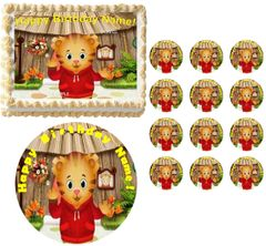 DANIEL TIGER'S NEIGHBORHOOD Waving Edible Cake Topper Image Frosting Sheet