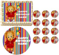 DANIEL TIGER'S NEIGHBORHOOD Edible Cake Topper Image Frosting Sheet