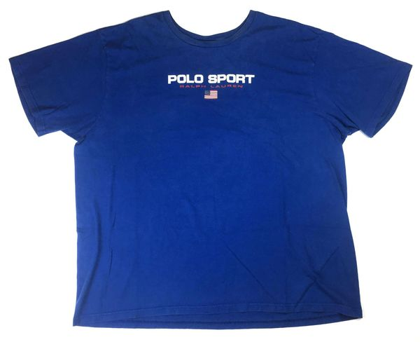 Polo Sport Spell Out Tee (Blue)