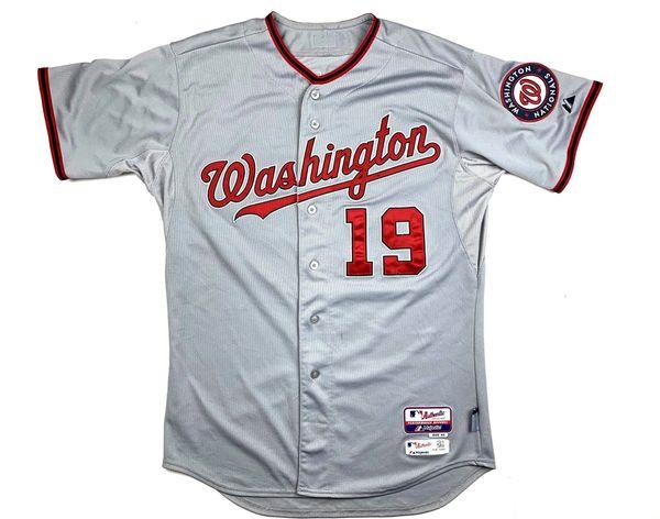 Washington Nationals Frandsen Baseball Jersey