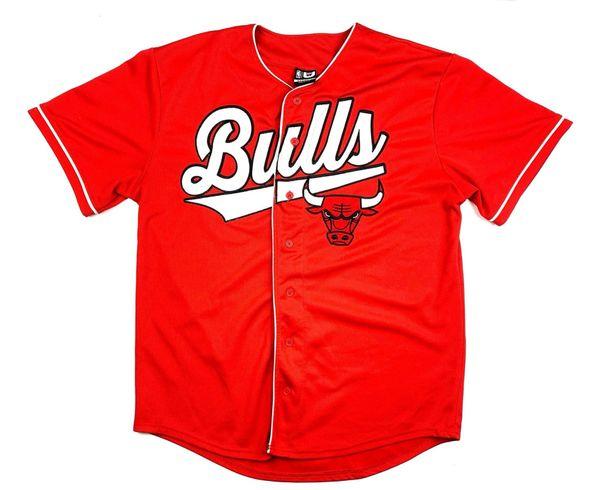 Chicago Bulls Baseball Jersey