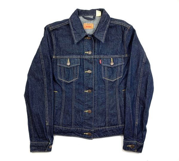 Womens Levis Dark Jean Jacket