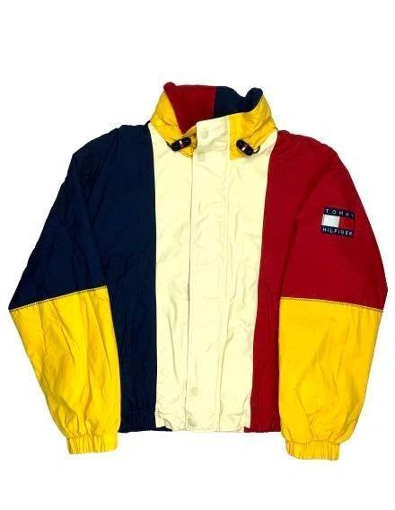 Vintage Tommy Hilfiger Puffy Colorblock Jacket