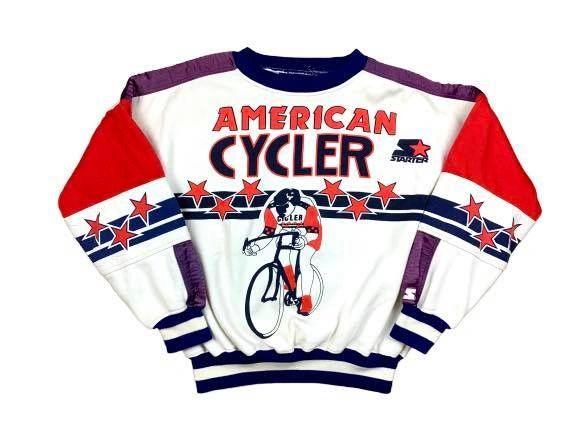 Vintage Starter Cycling Crewneck