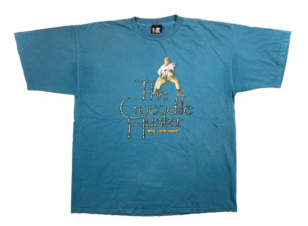 Vintage Crocodile Hunter Tee