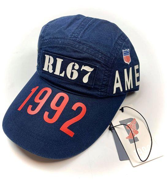Retro Polo Stadium Long Bill Hat NWT