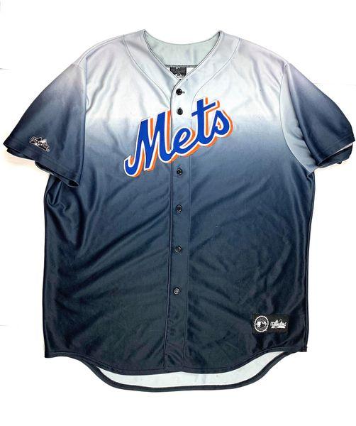 New York Mets Gradient Baseball Jersey