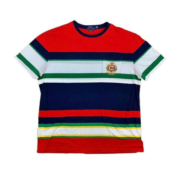 Polo New York Crest Striped Tee
