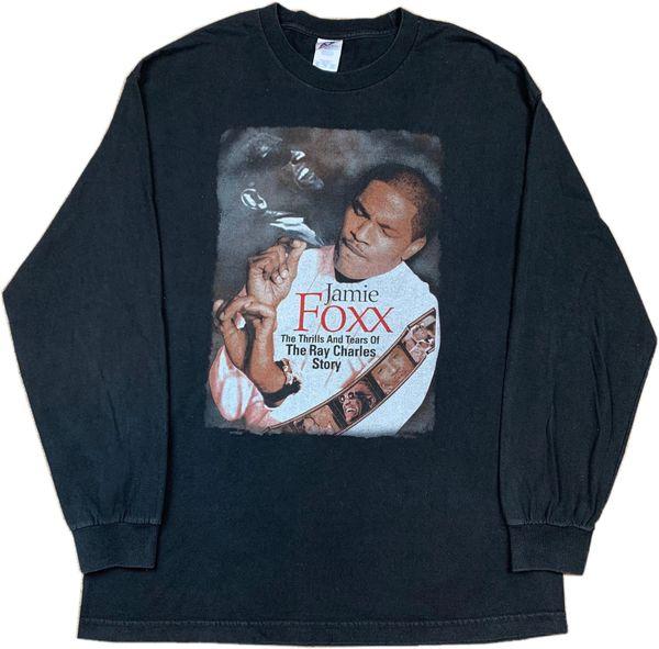 Vintage Jamie Foxx A Ray Charles Story Movie Promo Long Sleeve Tee