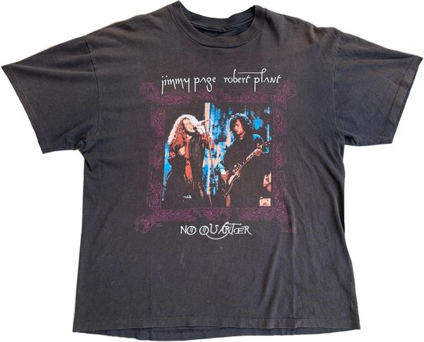 Vintage 1995 Led Zeppelin No Quarter Tour Tee