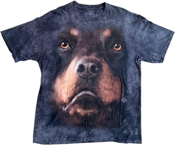 Rottweiler Dog Tie Dye Tee