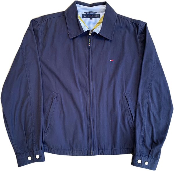 Tommy Hilfiger Zip Up Jacket (Navy)