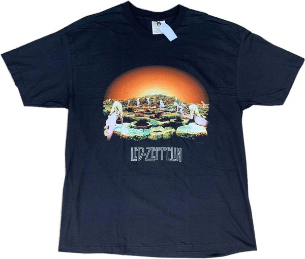 Vintage 1998 Led Zeppelin Houses Of The Holy Tour Tee NWT