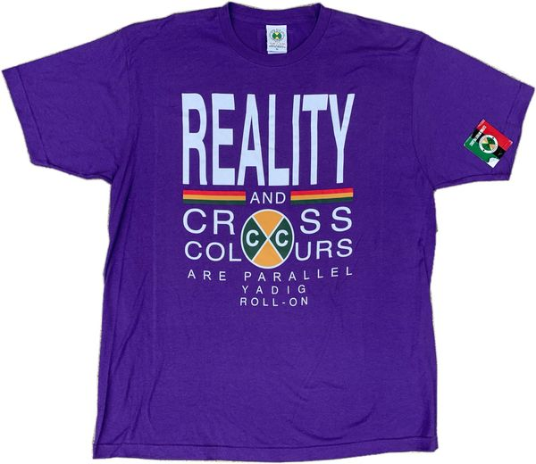 Cross Colours Reality Tee NWT