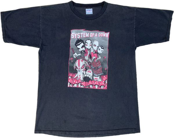Vintage System Of A Down Band Tee