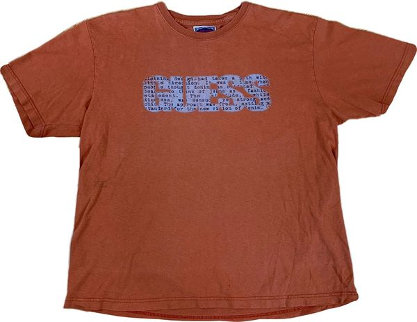 Guess Text Spell Out Tee