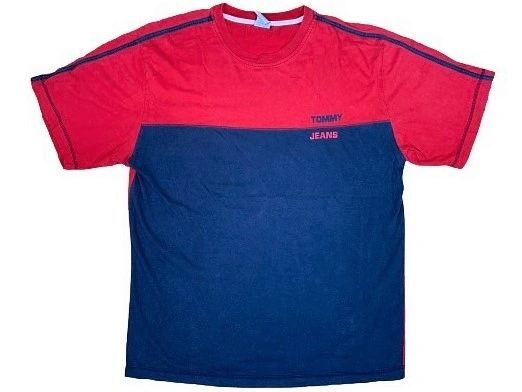Vintage Tommy Jeans Color Block Tee