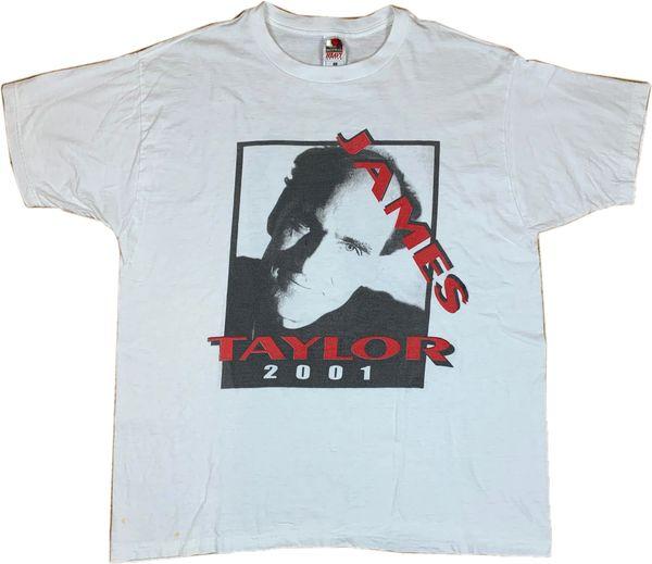 Vintage 2001 James Taylor Tour Tee