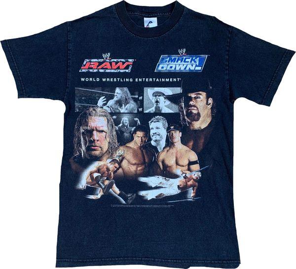 2005 WWE Smackdown Vs Raw Wrestling Tee