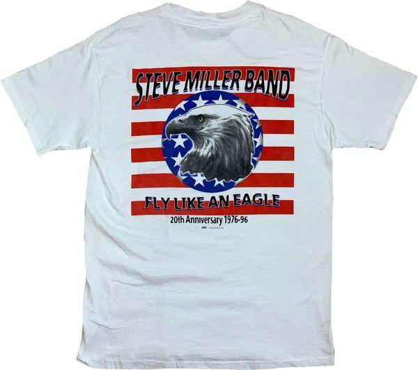 Vintage 1996 Steve Miller Band Fly Like An Eagle Tee