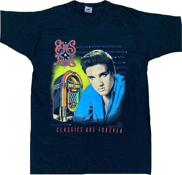 Vintage 1992 Elvis Presley Classics Are Forever Tee