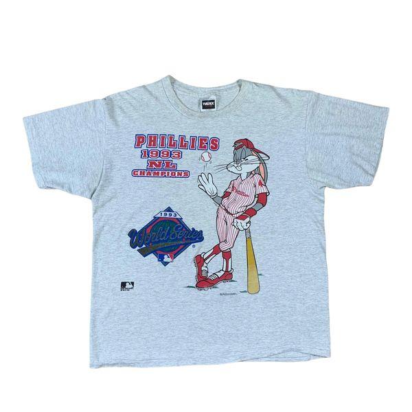 Vintage 1993 Philadelphia Phillies Bugs Bunny Tee