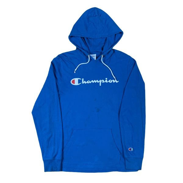 Champion Spellout Hooded Long Sleeve