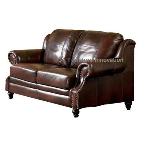 Brilliant Princeton Leather Love Seat Creativecarmelina Interior Chair Design Creativecarmelinacom