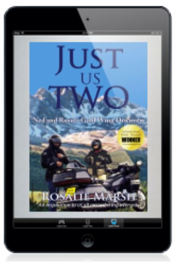 Cover of Just Is Ywo: Ned and Rosie's Gold Wing Discovery in a tablet