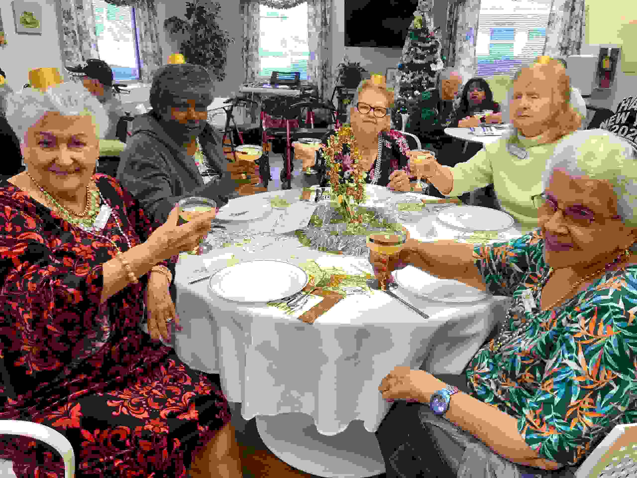 Members of Sea Breeze Adult Day center
