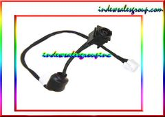Sony Vaio VGN-NS VGN-NS190J DC Power Jack w/ Cable P/N 073-0001-2492_A