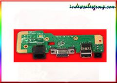 Dell Inspiron 1545 DC Power Jack Charger Board USB LAN VGA 00835