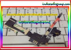 Audio Jack Flex Cable for Apple iPAD 2 WiFi+3G with Sim Card Holder Connector 821-1377-A