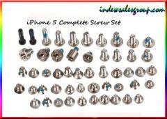 Iphone 5 5C 5G 5S Complete Screw Set