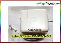 Genuine OEM A1244 A1369 A1370 ADP45GD Apple Macbook Adapter