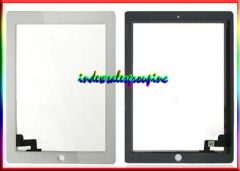 Ipad 2 Touch Screen Glass Digitizer + Home Button and Bumper