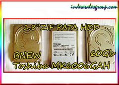 "Brand New 1.8"" ZIF PATA Toshiba Hard Drive 60Gb MK6006GAH"