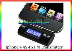 iPhone 4 4S 4G iPod Touch Nano FM Transmitter Modulator