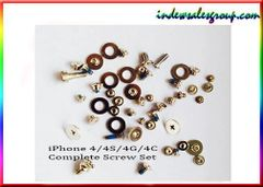 Apple iPhone 4 4S 4G Complete Screw Set