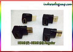 Angular HDMI (F) to HDMI (M) Adapter Extender