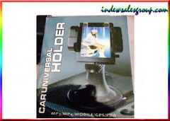 Universal Car Holder for Phones Tablets GPS MP3 Mp4