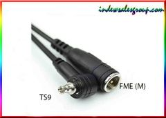 TS-9 TS9 External Antenna Adapter Cable to FME Male Connector