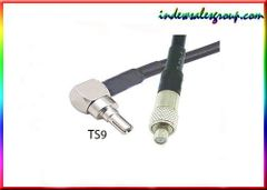 CRC9(M) to TS9 (F) jack RG174 RF transfer Coaxial wireless Cable