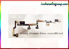 Apple iPad 2 Power Flex Cable Mute Switch Power Button