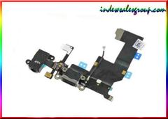 Apple iPhone 5, 5G Black Dock Connector and Headphone Jack Flex
