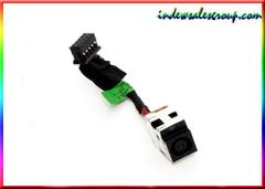 HP ENVY 17-3000 17t-3000 DC Power Jack w/Harness Cable 661451-302