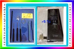 Iphone 4S Battery + DIY Do it Yourself 10 in 1 Repair Toolkit