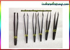 Anti-static Plastic Tweezer Set 6pcs