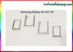 Samsung Galaxy A3 A5 A7 Nano Sim & Micro SD Card Holder Tray