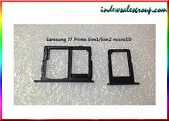 Samsung Galaxy J7 Prime Sim tray 1/2 MicroSD Card Slot